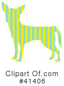 Royalty-Free (RF) Chihuahua Clipart Illustration #41406