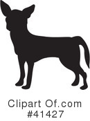 Royalty-Free (RF) Chihuahua Clipart Illustration #41427