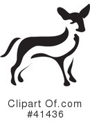 Royalty-Free (RF) Chihuahua Clipart Illustration #41436
