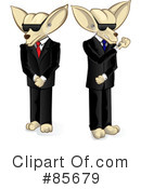 Royalty-Free (RF) Chihuahua Clipart Illustration #85679