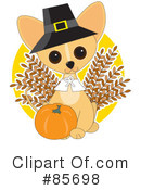Royalty-Free (RF) Chihuahua Clipart Illustration #85698