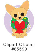 Royalty-Free (RF) Chihuahua Clipart Illustration #85699