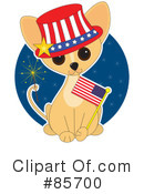 Royalty-Free (RF) Chihuahua Clipart Illustration #85700