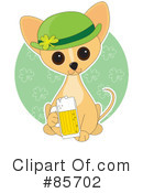 Royalty-Free (RF) Chihuahua Clipart Illustration #85702