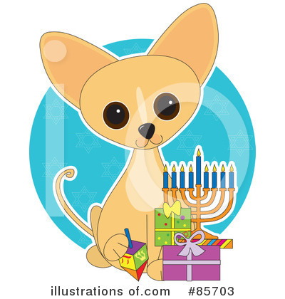Royalty-Free (RF) Chihuahua Clipart Illustration by Maria Bell - Stock Sample #85703