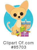 Royalty-Free (RF) Chihuahua Clipart Illustration #85703
