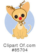 Royalty-Free (RF) Chihuahua Clipart Illustration #85704