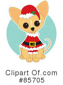 Royalty-Free (RF) Chihuahua Clipart Illustration #85705
