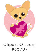 Royalty-Free (RF) Chihuahua Clipart Illustration #85707