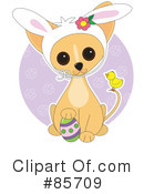 Royalty-Free (RF) Chihuahua Clipart Illustration #85709