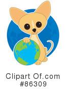 Royalty-Free (RF) Chihuahua Clipart Illustration #86309