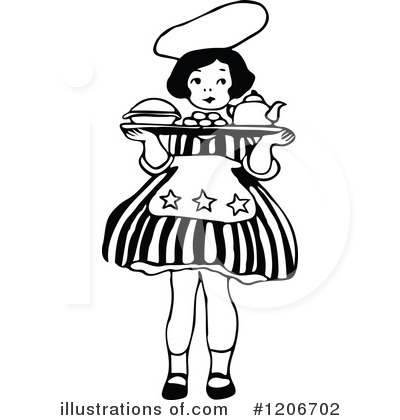 Cooking Clipart #1206702 by Prawny Vintage