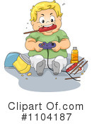 Child Obesity Clipart #1104187 by BNP Design Studio