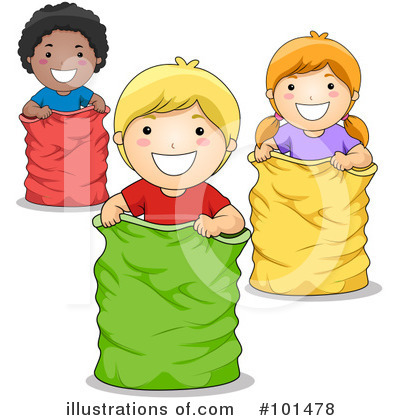 Royalty-Free (RF) Children Clipart Illustration by BNP Design Studio - Stock Sample #101478