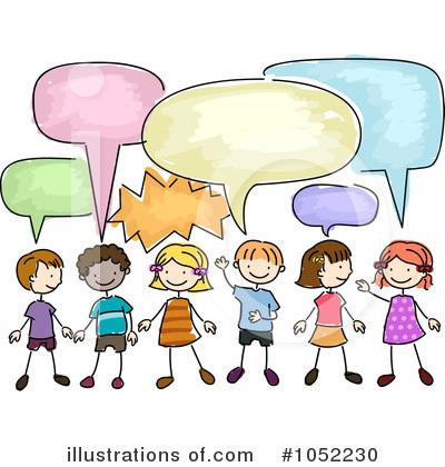 children speaking clip art - photo #11
