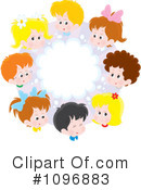 Royalty-Free (RF) Children Clipart Illustration #1096883