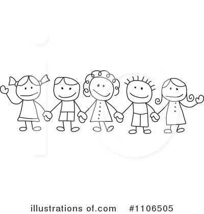 Friends Clipart #1106505 by C Charley-Franzwa