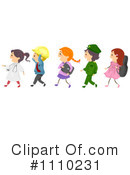 Royalty-Free (RF) Children Clipart Illustration #1110231
