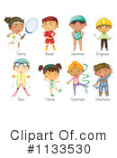 Royalty-Free (RF) Children Clipart Illustration #1133530