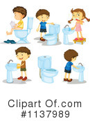 Royalty-Free (RF) Children Clipart Illustration #1137989