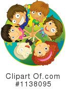 Royalty-Free (RF) children Clipart Illustration #1138095