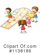 Royalty-Free (RF) Children Clipart Illustration #1138186
