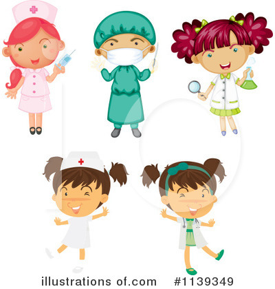 Nurse Clipart #1139349 by Graphics RF
