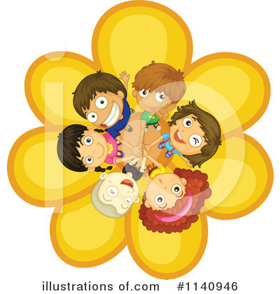 Flower Clipart #1140946 by Graphics RF