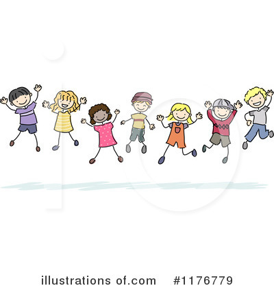 Jumping Clipart #1176779 by BNP Design Studio