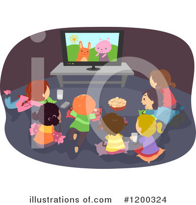 Tv Clipart #1200324 by BNP Design Studio