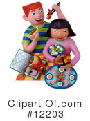 Royalty-Free (RF) Children Clipart Illustration #12203