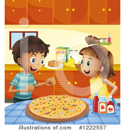 Pizza Clipart #1222557 by Graphics RF