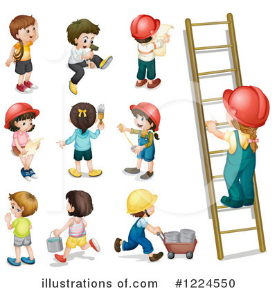 Ladder Clipart #1224550 by Graphics RF