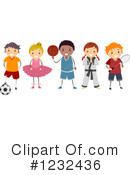 Royalty-Free (RF) Children Clipart Illustration #1232436