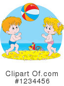 Children Clipart #1234456 by Alex Bannykh