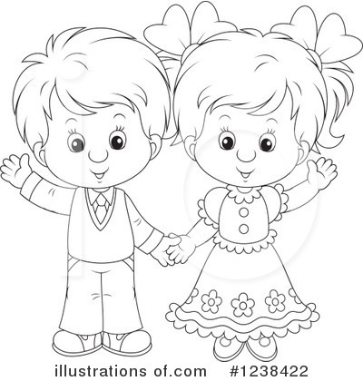Couple Clipart #1238422 by Alex Bannykh