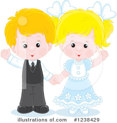 Couple Clipart #1238429 by Alex Bannykh