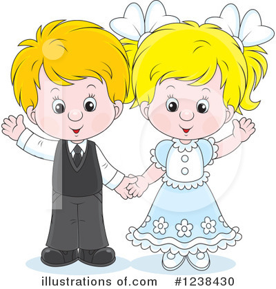Couple Clipart #1238430 by Alex Bannykh