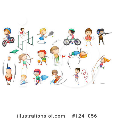 Surfer Clipart #1241056 by Graphics RF
