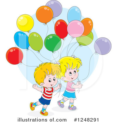 Royalty-Free (RF) Children Clipart Illustration by Alex Bannykh - Stock Sample #1248291