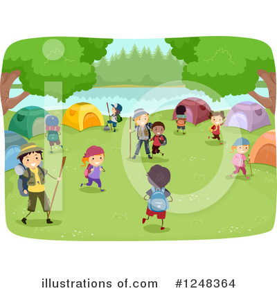 Summer Camp Clipart #1248364 by BNP Design Studio