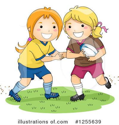 Football Clipart #1255639 by BNP Design Studio