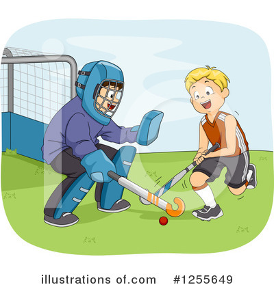 Hockey Clipart #1255649 by BNP Design Studio