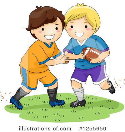 Football Clipart #1255650 by BNP Design Studio
