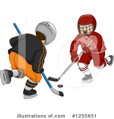Hockey Clipart #1255651 by BNP Design Studio