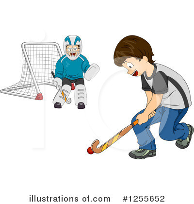 Hockey Clipart #1255652 by BNP Design Studio