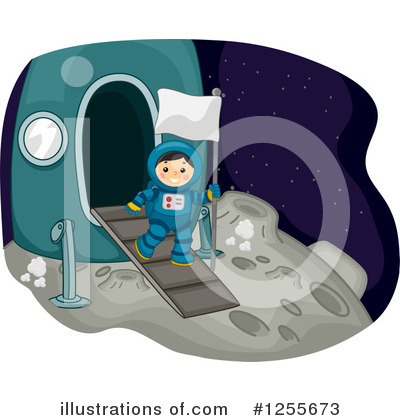 Outer Space Clipart #1255673 by BNP Design Studio