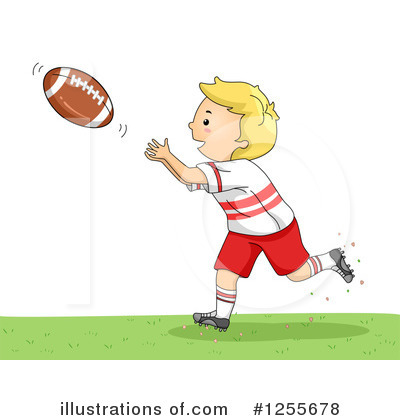 Football Clipart #1255678 by BNP Design Studio
