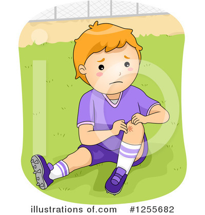 Football Clipart #1255682 by BNP Design Studio