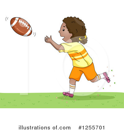 Football Clipart #1255701 by BNP Design Studio